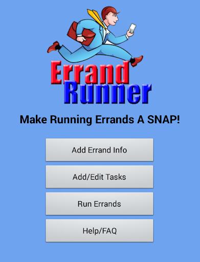 Errand Runner ToDo List Demo