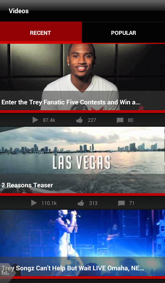 Trey Songz - screenshot