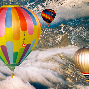 Ballonfestival 2004 Laax by Thomas ST0LL - Transportation Other (  )