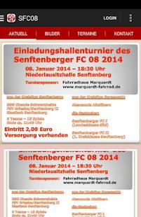 Senftenberger FC 08 - screenshot thumbnail