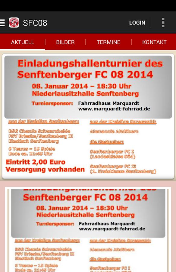 Senftenberger FC 08 - screenshot