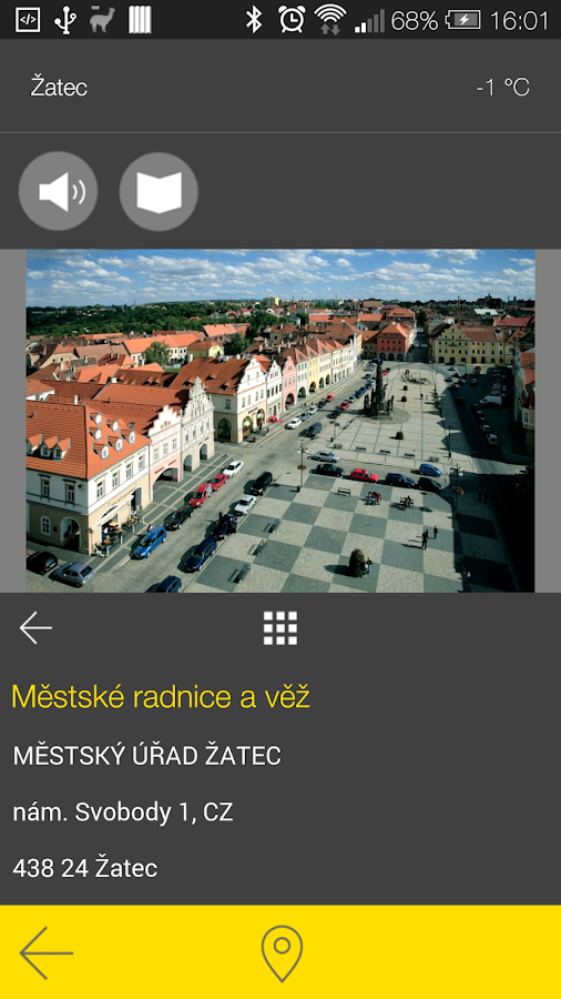 Žatec - audio tour- screenshot