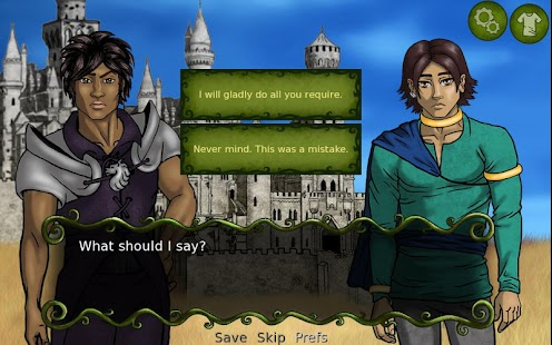 Serafina's Saga (Visual Novel)- screenshot thumbnail