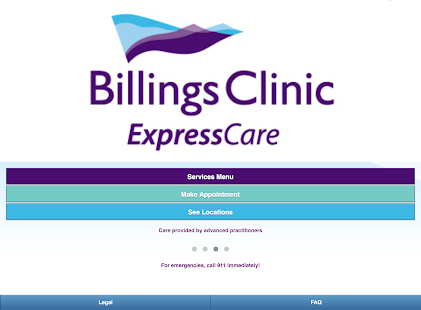 Billings Clinic ExpressCare - screenshot thumbnail