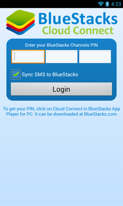 BlueStacks Cloud Connect - screenshot