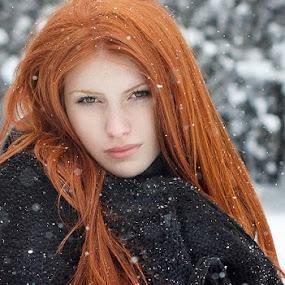 Kristy  by Tanya Markova - People Portraits of Women