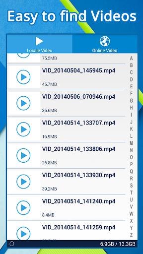 DroPlayer ビデオプレイヤー オンラインビデオ
