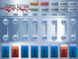 Screenshot of Sonic Loops Pro