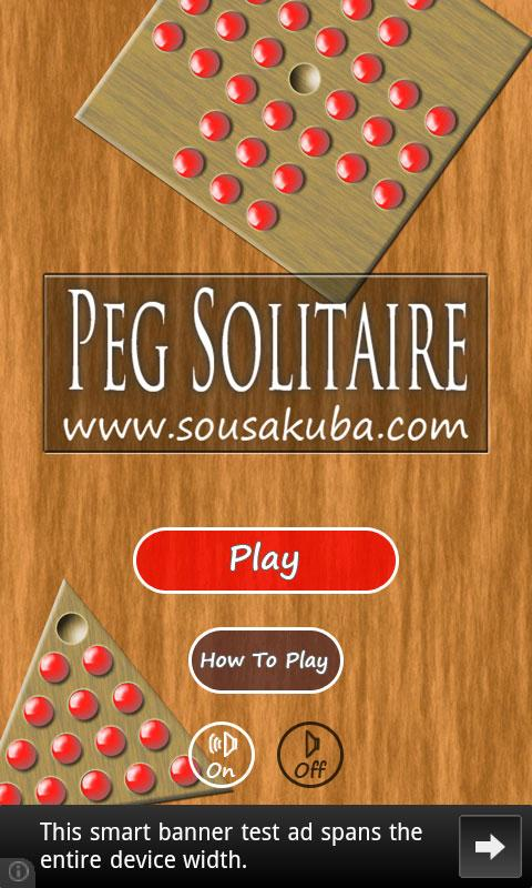 Peg Solitaire- screenshot