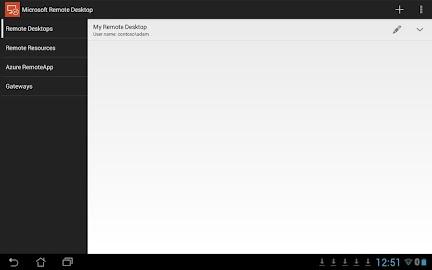 Microsoft Remote Desktop Screenshot 1