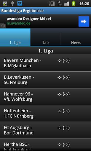 Bundesliga Ergebnisdienst
