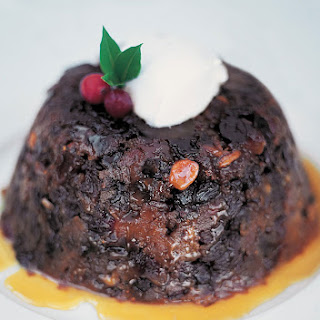 My Nan's Christmas pud with vin santo