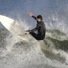 On Top by Dominick Darrigo - Sports & Fitness Surfing
