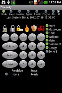 DSC Security Keypad- screenshot thumbnail