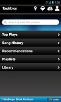 Screenshot of TouchTunes