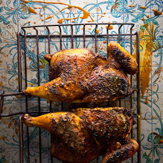Djaj Bil-Bahar Il-Asfar (Iraqi Yellow Spice-Rubbed Chicken)
