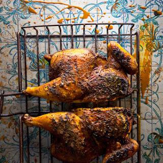 Djaj Bil-Bahar Il-Asfar (Iraqi Yellow Spice-Rubbed Chicken).