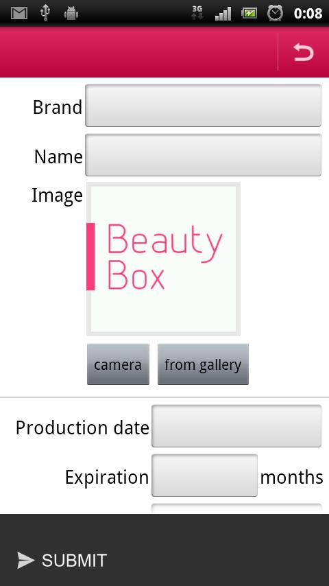 BeautyBox - screenshot
