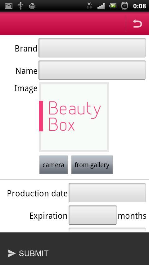 BeautyBox - screenshot