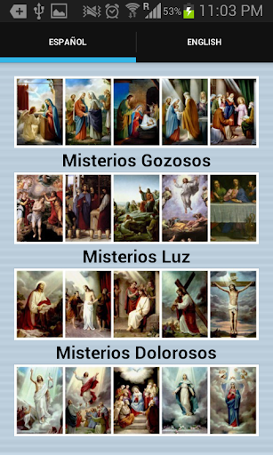 Santo Rosario-Spanish