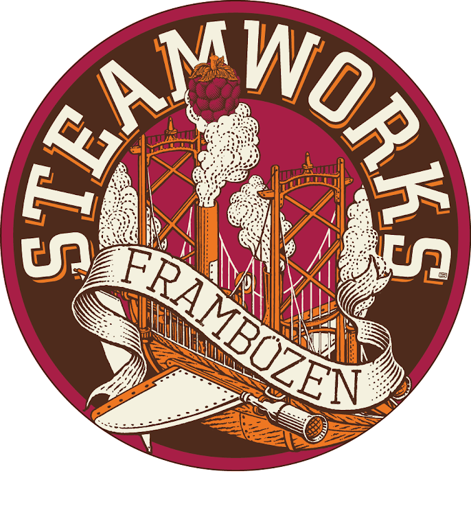 Logo of Steamworks Frambozen