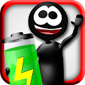 Widget Power: Stickman Battery icon