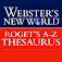 Webster's Thesaurus TR