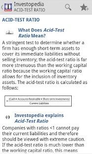 The (I) Investopedia Guide - screenshot thumbnail