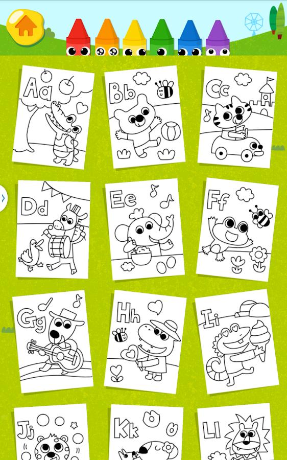 kids coloring fun captura de pantalla - Kids Coloring Fun