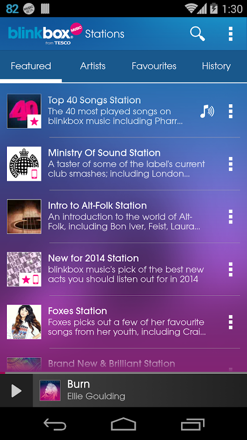 blinkbox music 12M+ Free Songs - screenshot