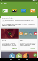 Screenshot of Tendere - Icon Pack