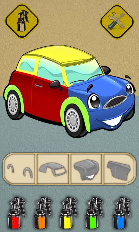 car games for kids screenshot