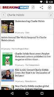 Etalia – Control over news- screenshot thumbnail