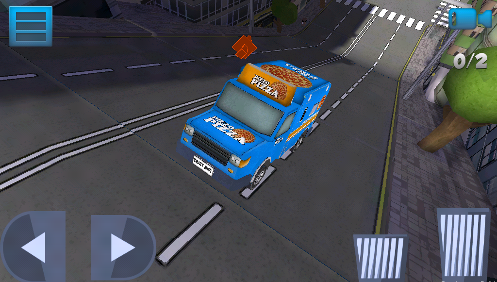 Pizza Delivery- screenshot