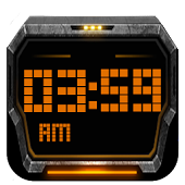 3D Sci Fi Clock For Gear Fit
