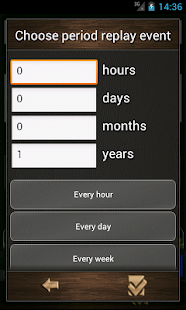 Countdown calendar.- screenshot thumbnail