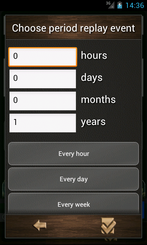 Countdown calendar. - screenshot