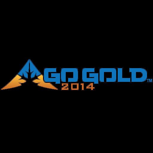 Go Gold 2014 LOGO-APP點子
