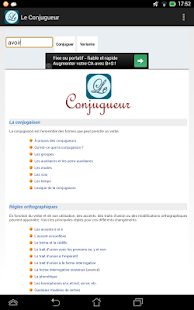 Le Conjugueur- screenshot thumbnail