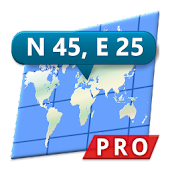 Ad Free Map Coordinates