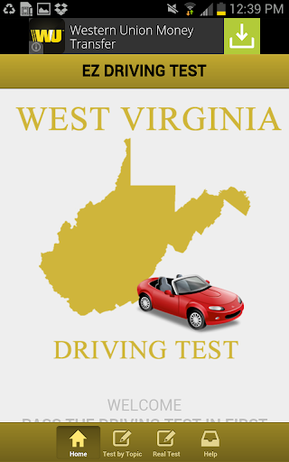 West Virginia Driving Test