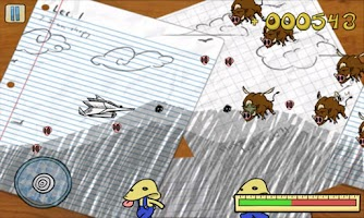 Screenshot of Doodle Assault
