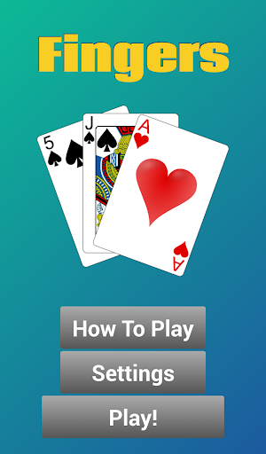 【免費紙牌App】Fingers the Card Game-APP點子