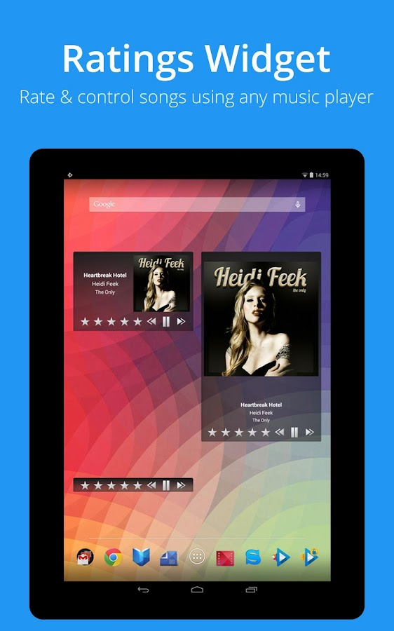 iSyncr : iTunes for Android - screenshot
