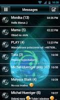 Screenshot of GO SMS Pro Modern Theme
