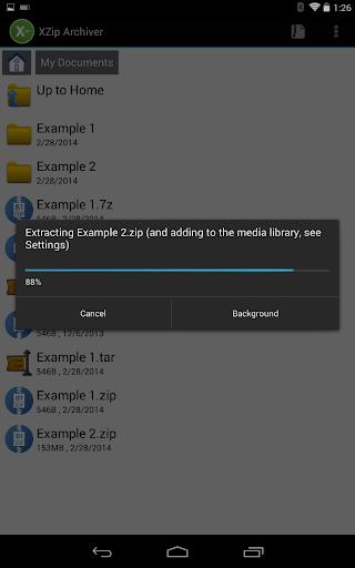 XZip – zip unzip unrar utility PRO v0.2.9120