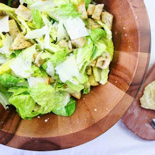 Mom's Lemony Caesar Salad.