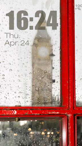 Rain Dim Live Locker Theme