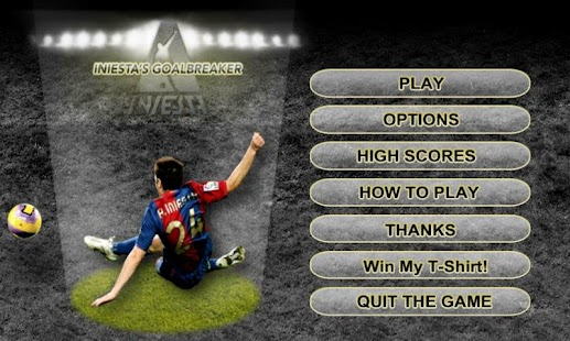 Iniesta's Goalbreaker - screenshot thumbnail