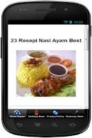Screenshot of Resepi Nasi Ayam Best